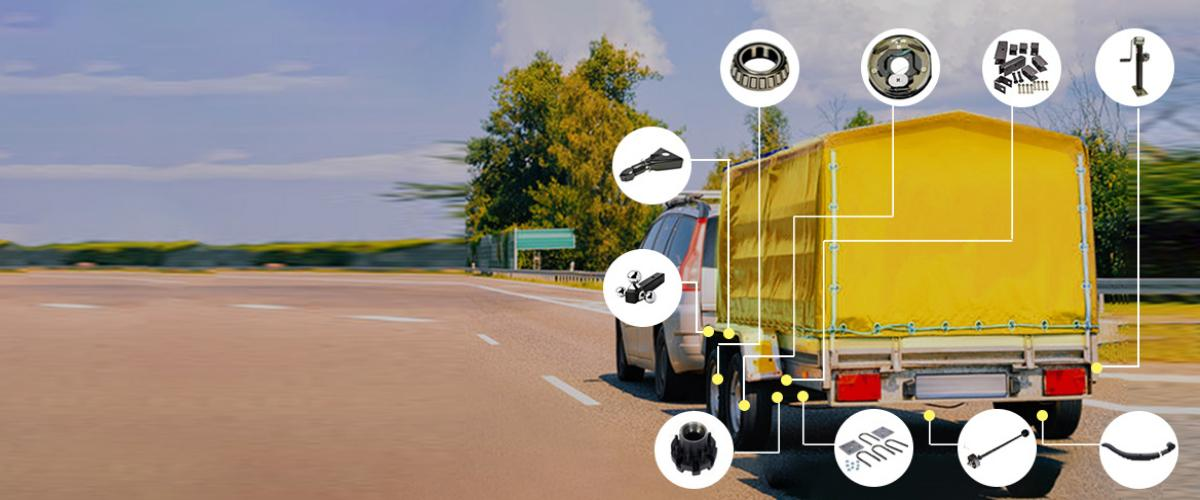 Complete solution for Trailer parts
